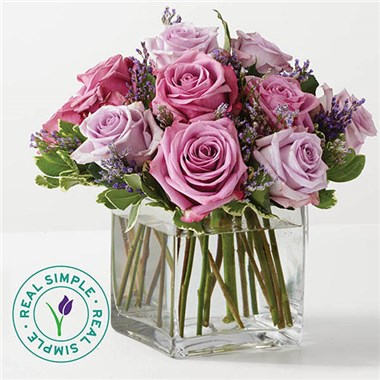 1 800 Flowers Graceful Lavender Bouquet By Real Simple 1 800